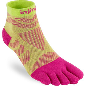 Injinji Run Technical Mini Crew Socks Women, melon